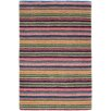 Dash and Albert Rugs Brindle Stripe Carnival Hand Knotted Area Rug