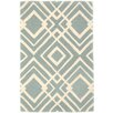 Dash and Albert Rugs Gracie Wool Tufted Blue Area Rug