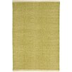 Dash and Albert Rugs Herringbone Hand Woven Green Area Rug