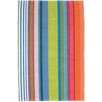 Dash and Albert Rugs Mellie Stripe Woven Cotton Area Rug