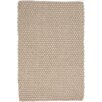 Dash and Albert Rugs Hand Woven Brown Indoor/Outdoor Area Rug