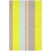 Dash and Albert Rugs Hand Woven Yellow/Grey Area Rug
