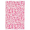 Dash and Albert Rugs Spot Pink/White Area Rug