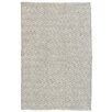 Dash and Albert Rugs Crystal Gray/White Indoor/Outdoor Area Rug