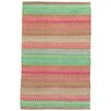 Dash and Albert Rugs Gypsy Pink/Green Area Rug