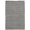 Dash and Albert Rugs Crystal Black/White Indoor/Outdoor Area Rug