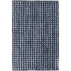 Dash and Albert Rugs Hand-Woven Blue Indoor/Outdoor Area Rug