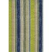 Dash and Albert Rugs Hand Woven Green/Blue Indoor/Outdoor Area Rug