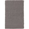 Dash and Albert Rugs Two-Tone Rope Hand-Woven Gray Indoor/Outdoor Area Rug