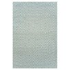 Dash and Albert Rugs Hand Woven Blue Area Rug