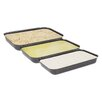 Fox Run Craftsmen Non-Stick Breading Pans (Set of 3)