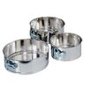 Fox Run Craftsmen 3 Piece Mini Springform Pan Set
