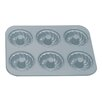 Fox Run Craftsmen Non-Stick 6 Cup Fluted Muffin Pan with Center Tube