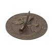 Whitehall Products Dragonfly Sundial