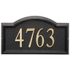 Whitehall Products Design-it Arch Address Plaque