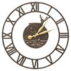 """Whitehall Products Martini Floating Ring 21"""" Indoor/Outdoor Wall Clock"""