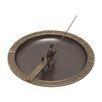 Fisherboy Sundial Birdbath - Whitehall Products Bird Baths