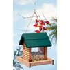Log Cabin Hopper Bird Feeder - North States Bird Feeders