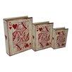 Cheungs 3 Piece Vinyl Queen of Hearts Book Box Set