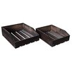 Cheungs 2 Piece Office Desk Storage Set