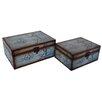 Cheungs 2 Piece Nautical Treasure Box Set