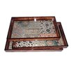 Cheungs 3 Piece Large Tray Set