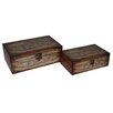 Cheungs 2 Piece Wooden Box Set