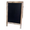 Cheungs Large Double Sided Wood Frame Chalkboard