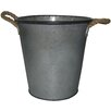 Cheungs Metal Container with 2 Rope Handles