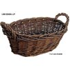 Cheungs Willow Oval Basket with Side Handles