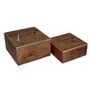 Cheungs 2 Piece Wood Box Set