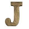 "Cheungs Metal ""J"" with Hammered Accents Wall Décor"