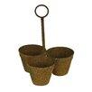 Hanson 3 Metal Pot Planter - Alcott Hill Planters