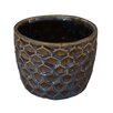 Ginnifer Ceramic Pot Planter - Size: 4.25 inch High x 5 inch Wide x 5 inch Deep - Bungalow Rose Planters