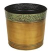 Williston Round Pot Planter - Size: 3.75 inch High x 4.75 inch Wide x 4.75 inch Deep - Bloomsbury Market Planters