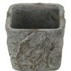 Rene Square Tapered Pot Planter - Size: 4.5 inch High x 5 inch Wide x 5 inch Deep - Bloomsbury Market Planters