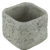 Ria Square Pot Planter - Size: 4 inch High x 4.25 inch Wide x 4.25 inch Deep - Bloomsbury Market Planters