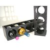 Proman Products Rutherford 5 Bottle Tabletop Wine Rack (Set of 2)