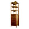 "Proman Products 16.5"" x 66.25"" Free Standing Linen Tower"