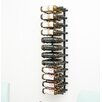 VintageView 36 Bottle Wall Mounted Wine Rack