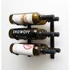 VintageView WS Series 6 Bottle Wall Mount Wine Rack