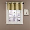 Veratex, Inc. Velvet Soft Luxury Grommet Curtain Valance