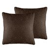 Veratex, Inc. Luxe Chenille Throw Pillow (Set of 2)