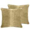 Veratex, Inc. Luxury Velvet Euro Pillow (Set of 2)