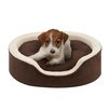 Soft Touch Milo Oval Cuddler Dog Bed with Cushion