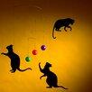 Flensted Mobiles Feline Fun Cat Mobile
