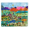 Novica Applique Highland Harvest by Maria Uyauri Tapestry