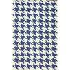 nuLOOM Trellis Regal Blue Houndstooth Area Rug
