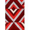 nuLOOM Cine Red Roxy Area Rug