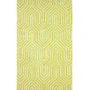 nuLOOM Heritage Light Green Demi Rug